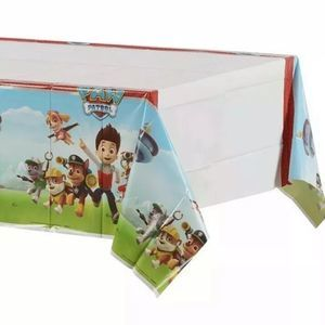 PAW PATROL Tablecloth Birthday Party Decorations